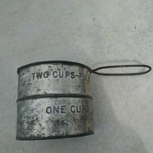 Other - Antique Sifter metal flour baking